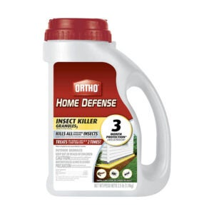 The Best Tick Repellent Option: Ortho Home Defense Insect Killer Granules