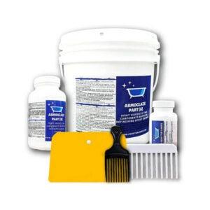 The Best Tub Refinishing Kit Option: Armoglaze - Enamel Epoxy Bath Refinishing Kit