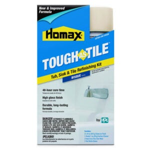 The Best Tub Refinishing Kit Option: Homax Aerosol Tough as Tile Tub Refinishing Kit