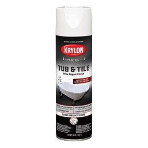 The Best Tub Refinishing Kit Option: Krylon K04502007 Tub & Tile Ultra Repair Spray Paint