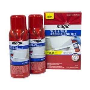 The Best Tub Refinishing Kit Option: Magic Tub and Tile Refinishing Kit Spray on Aerosol
