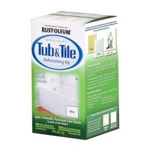 The Best Tub Refinishing Kit Option: Rust-Oleum 7860519 Tub and Tile Refinishing Kit
