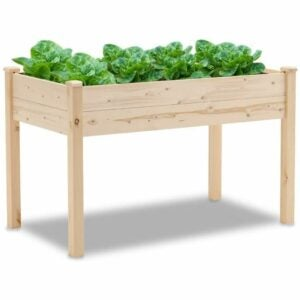 The Best Amazon Prime Day Deals Option: Patiomore 4 Feet Outdoor Wooden Raised Planter Box