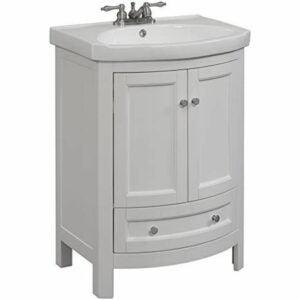 The Best Bathroom Vanities Option: RunFine RFVA0069W Vanity, White Finish