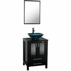 """The Best Bathroom Vanities Option: eclife 24"""" Bathroom Vanity and Sink Combo"""
