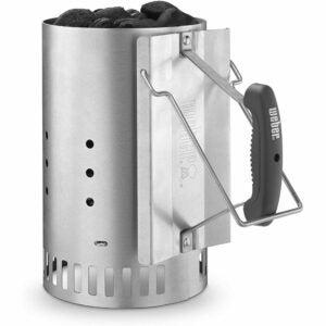 The Best Charcoal Chimney Option: Weber 7429 Rapidfire Chimney Starter