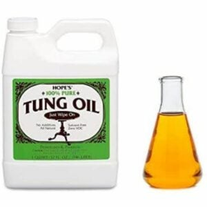 The Best Finish For Kitchen Table Option: HOPE'S 100% Pure Tung Oil, Wood Finish for Furniture