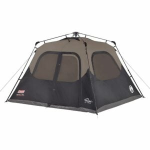 The Best Gifts for Campers Option: Coleman Cabin Tent with Instant Setup