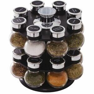 The Best Gifts For Cooks Option: Kamenstein Ellington Revolving Spice Tower