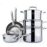 The Best Gifts For Cooks Option: SAVEUR SELECTS 10-piece Stainless Steel Cookware Set