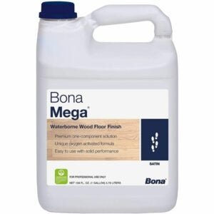 The Best Water Based Polyurethane For Floors Option: Bona Mega Wood Floor Finish