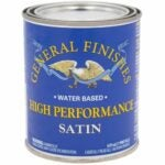 The Best Water Based Polyurethane For Floors Option: General Finishes High Performance Water Based Topcoat
