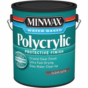 The Best Water Based Polyurethane For Floors Option: Minwax Polycrylic Water-Based Protective Clear Finish