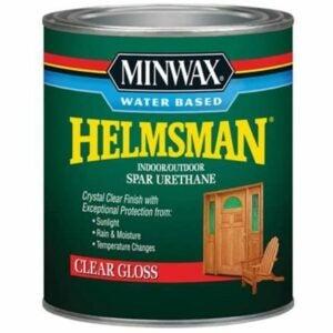 The Best Water Based Polyurethane For Floors Option: Minwax Water Based Helmsman Spar Urethane