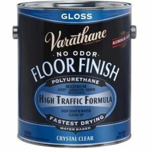 The Best Water Based Polyurethane For Floors Option: RUST-OLEUM Varathane Gallon Gloss Floor Finish