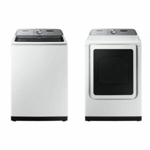 The Best Buy Prime Day Option: Samsung Top Load Washer with Electric Dryer