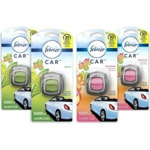 The Best Car Air Fresheners Option: Febreze Car Air Freshener Vent Clips