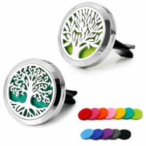 The Best Car Air Fresheners Option: RoyAroma 2PCS Car Aromatherapy Essential Oil Diffuser