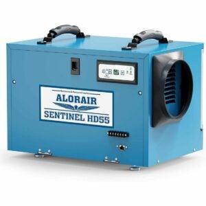 The Best Crawl Space Dehumidifier Option: AlorAir Commercial Dehumidifier 113 Pint