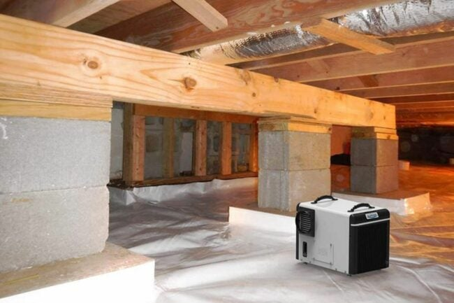 The Best Crawl Space Dehumidifier Option