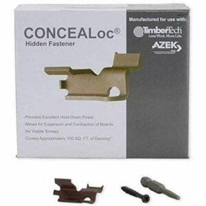 The Best Hidden Deck Fasteners Option: TimberTech CONCEALoc Fastener