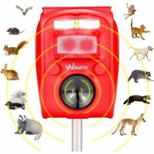The Best Rabbit Repellent Option: Carestar Solar Ultrasonic Repellent Defender