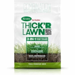 The Best Tall Fescue Grass Seed Option: Scotts Turf Builder Thick'R Lawn Tall Fescue Mix