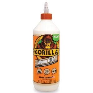 Best Glue for MDF Options: Gorilla 6206005 Wood Glue
