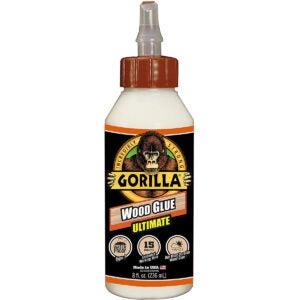 Best Glue for MDF Options: Gorilla Ultimate Waterproof Wood Glue