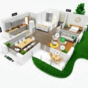 The Best Kitchen Design Software Option: Planner 5D