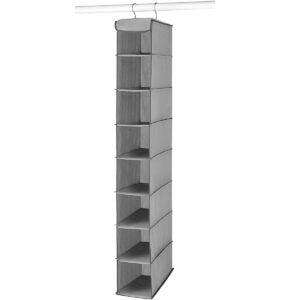 Best Shoes Organizer Options: Whitmor Hanging Shoe Shelves - 8 Section - Closet