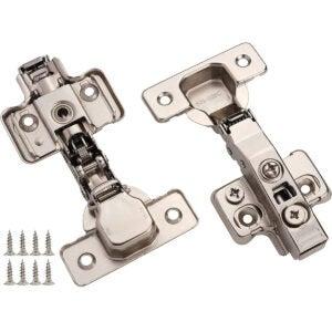 Best Soft Close Cabinet Hinges Option: DecoBasics Full Overlay Concealed Frameless Cabinet Hinge