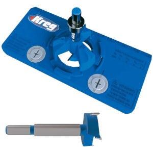 Best Soft Close Cabinet Hinges Option: Kreg Concealed Hinge Jig and 35mm Concealed Hinge