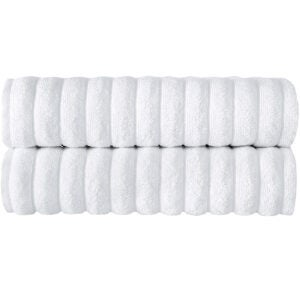 Best Towels on Amazon Options: Classic Turkish Towels Luxury Ribbed Bath Towels