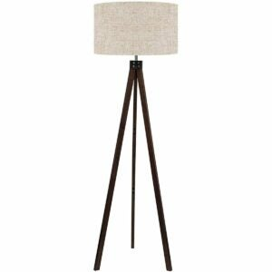 The Prime Day Furniture Deals Option: LEPOWER Mid Century Wood Tripod Floor Lamp