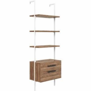 The Prime Day Furniture Deals Option: Nathan James Theo Industrial Bookshelf