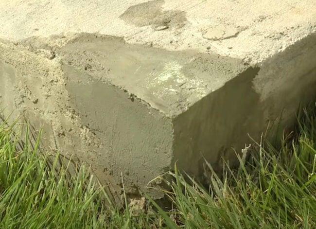 Repair Crumbling Concrete Corners