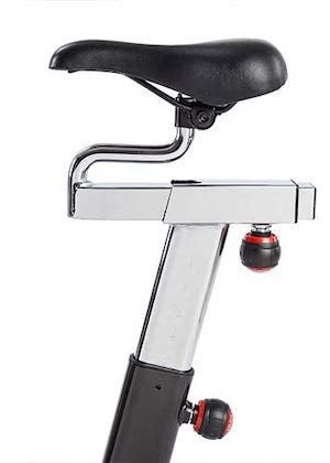 sunny health and fitness 49 pound flywheel exercise bike review