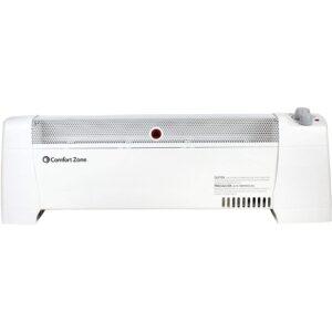 Baseboard Heater Option: Comfort Zone CZ600 Indoor 1500 Watt Electric Heater