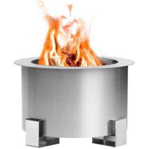 Best Smokeless Fire Pit Option: Esright Stove Bonfire Smokeless Wood Fire Pit