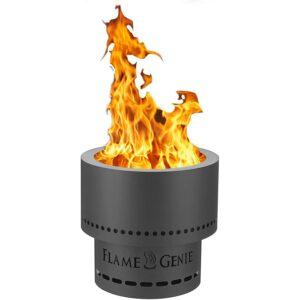 Best Smokeless Fire Pit Option: HY-C FG-16 Flame Genie Portable Smoke-Free Fire Pit