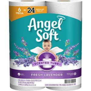 Best Toilet Paper For Septic Option: Angel Soft Toilet Paper with Fresh Lavender Scent