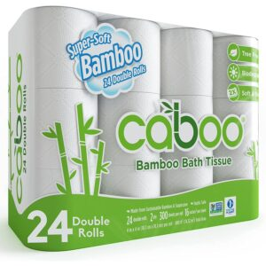 Best Toilet Paper For Septic Option: Caboo Tree Free Bamboo Toilet Paper