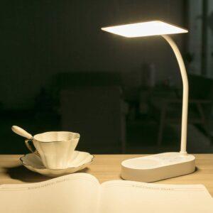 Cordless Lamp Option: MAYTHANK Cordless USB Reading Lamp