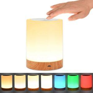 Cordless Lamp Option: UNIFUN Night Light, Touch Lamp
