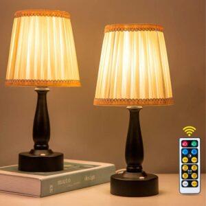 Cordless Lamp Option: ZEEFO LED Night Light, Portable Lamp