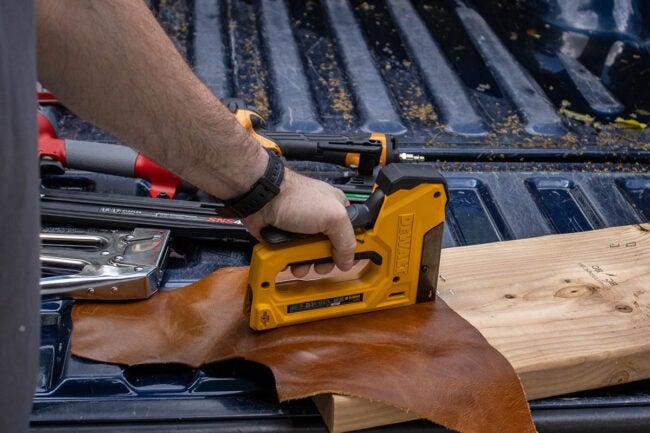 DeWalt Staple Gun Easy to Use