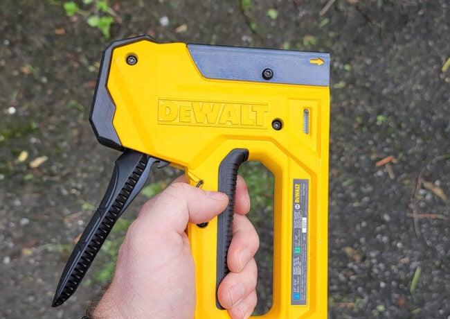 DeWalt Staple Gun Exceptional Quality