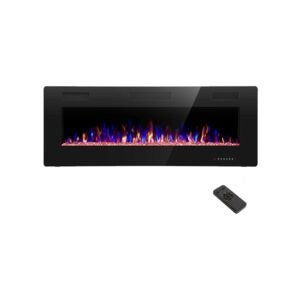 Electric Fireplace Heater Option: R.W.FLAME Electric Fireplace