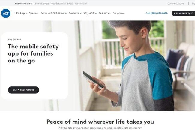 How Safe Is My Neighborhood ADT Go app